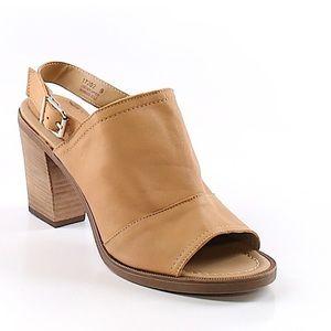 ANTHROPOLOGIE BARBARA BARBIERI Tan Leather Sandals